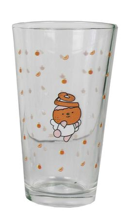 Natali Koromoto Orange Glassware