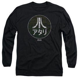 Atari Japanese Grid Long Sleeve Adult T-Shirt