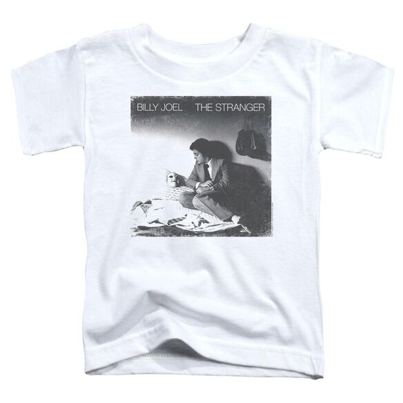 Billy Joel The Stranger Short Sleeve Toddler Tee White T-Shirt