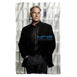 Ncis Glass Wall Fleece Blanket