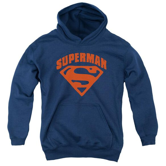 Superman Super Shield Youth Pull Over Hoodie