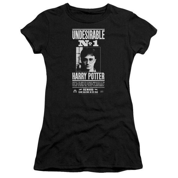 Harry Potter Undesirable No 1 Short Sleeve Junior Sheer T-Shirt