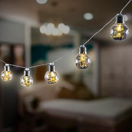 Confetti Bulb LED String Lights