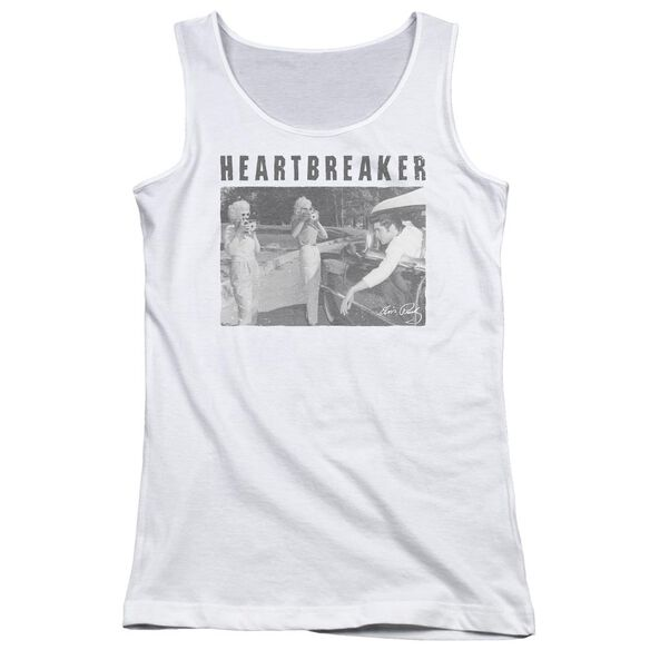 Elvis Presley Heartbreaker Juniors Tank Top
