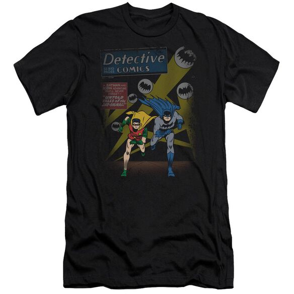 BATMAN DYNAMIC DUO - S/S ADULT 30/1 - BLACK T-Shirt