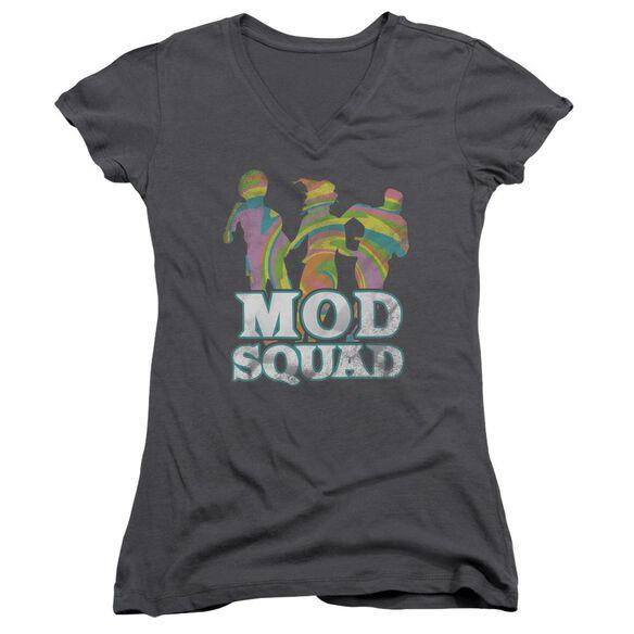 Mod Squad Mod Squad Run Groovy Junior V Neck T-Shirt