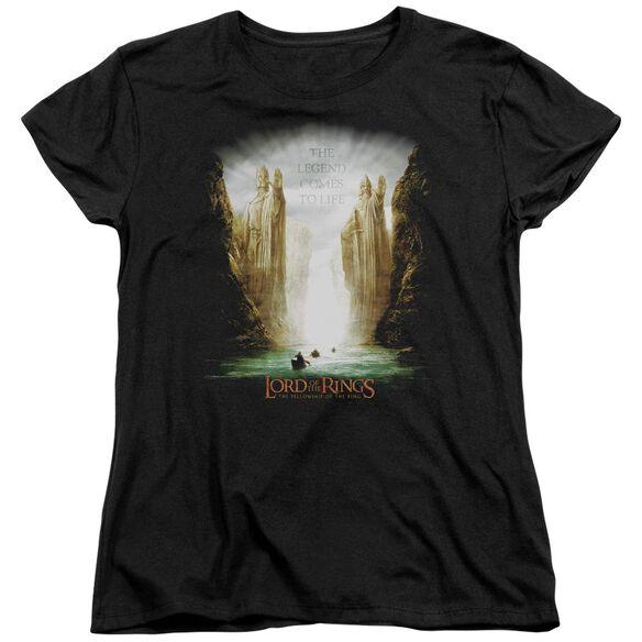 Lor Kings Of Old Short Sleeve Womens Tee T-Shirt