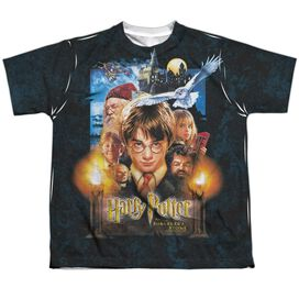 Harry Potter The Beginning Short Sleeve Youth Poly Crew T-Shirt