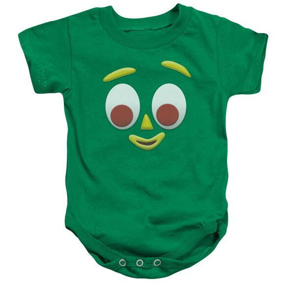 Gumby Gumbme Infant Snapsuit Kelly Green