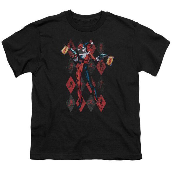 Batman Pow Pow Short Sleeve Youth T-Shirt