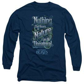 Fantastic Beasts Unnatural Long Sleeve Adult T-Shirt