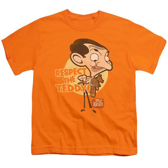 Mr Bean Respect The Teddy Short Sleeve Youth T-Shirt