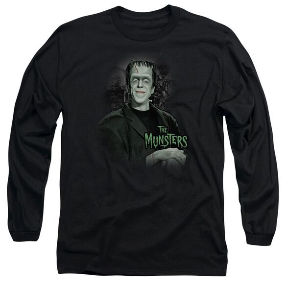 The Munsters Man Of The House Long Sleeve Adult T-Shirt