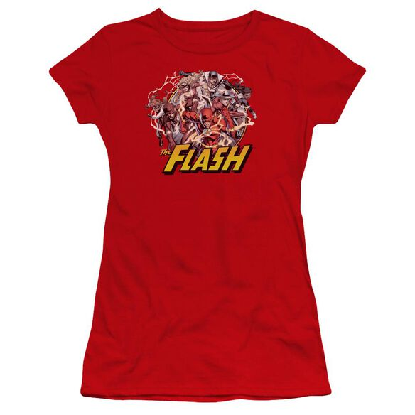 Jla Flash Family Premium Bella Junior Sheer Jersey