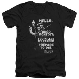 PRINCESS BRIDE HELLO AGAIN-S/S ADULT T-Shirt