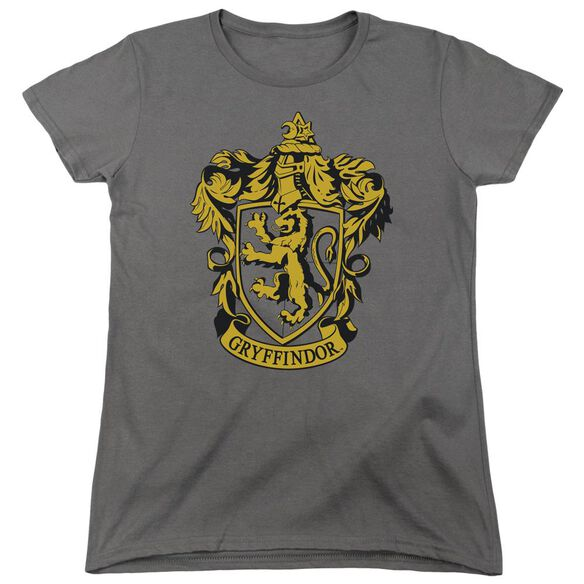 Harry Potter Gryffindor Crest Short Sleeve Womens Tee T-Shirt