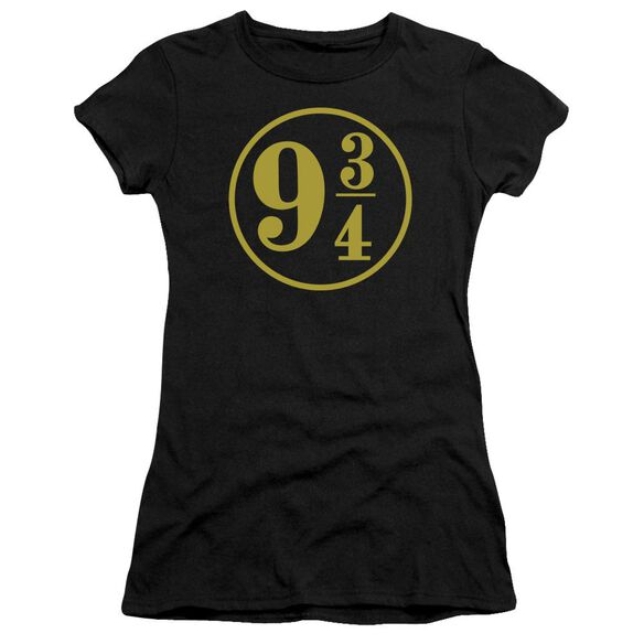 Harry Potter 9 3 4 Short Sleeve Junior Sheer T-Shirt