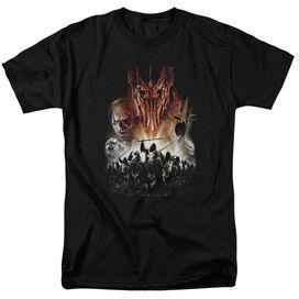 Lor Evil Rising Short Sleeve Adult Black T-Shirt