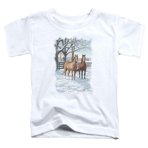 Wildlife Coffee And Chocolate Short Sleeve Toddler Tee White T-Shirt