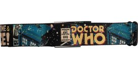 Doctor Who Comic Book Cover Lost in Time Seatbelt Mesh Belt