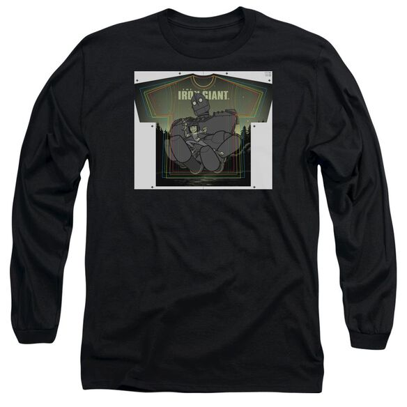 Iron Giant Helping Hand Long Sleeve Adult T-Shirt