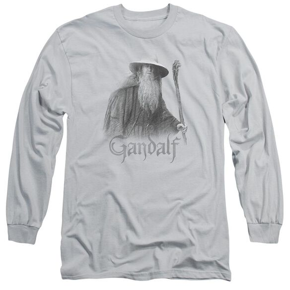 Lor Gandalf The Grey Long Sleeve Adult T-Shirt