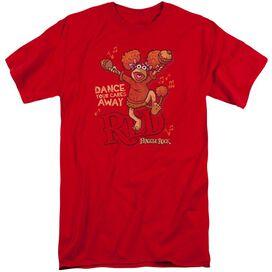 Fraggle Rock Dance Short Sleeve Adult Tall T-Shirt
