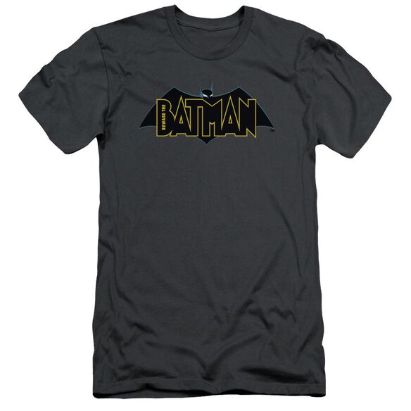 Beware The Batman Logo Short Sleeve Adult T-Shirt