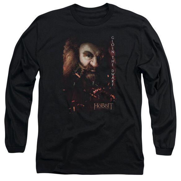 The Hobbit Gloin Poster Long Sleeve Adult T-Shirt