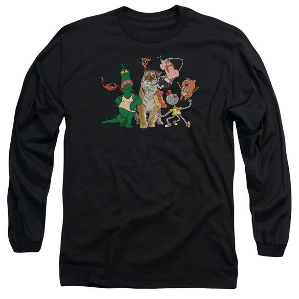 Uncle Grandpa Group Long Sleeve Adult T-Shirt