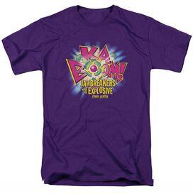 Dubble Bubble Ka Boom Short Sleeve Adult T-Shirt