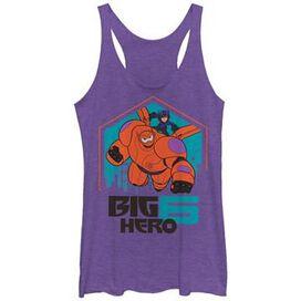 Big Hero 6 Duo Flight Tank Top Juniors T-Shirt