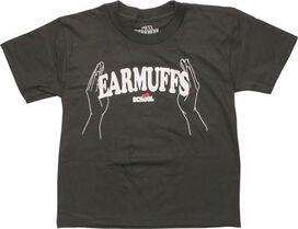 Old School Ear Muffs Juvenile T-Shirt