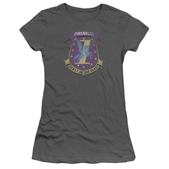 Bsg Primas Badge Short Sleeve Junior Sheer T-Shirt