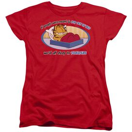 GARFIELD POP OUT OF BED-S/S T-Shirt