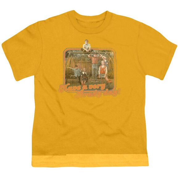BRADY BUNCH HAVE A VERY BRADY DAY! - S/S YOUTH 18/1 - GOLD T-Shirt