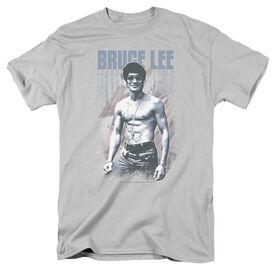 Bruce Lee Blue Jean Lee Short Sleeve Adult T-Shirt