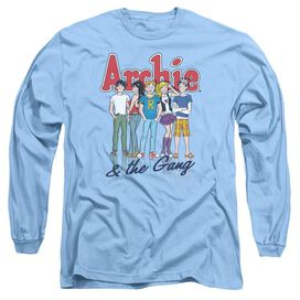 ARCHIE COMICS AND THE GANG - L/S ADULT 18/1 - CAROLINA BLUE T-Shirt