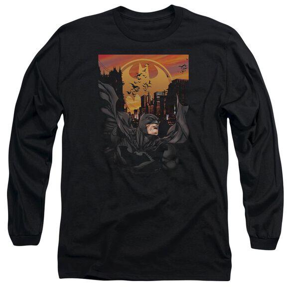 Batman Always On Call Long Sleeve Adult T-Shirt