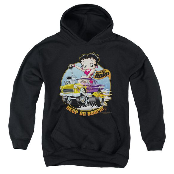 Betty Boop Keep On Boopin Youth Pull Over Hoodie