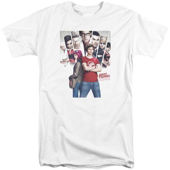 Scott Pilgrim Pilgrim Poster Short Sleeve Adult Tall T-Shirt