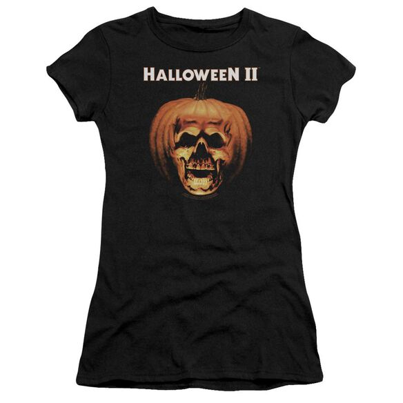 Halloween Ii Pumpkin Shell Premium Bella Junior Sheer Jersey