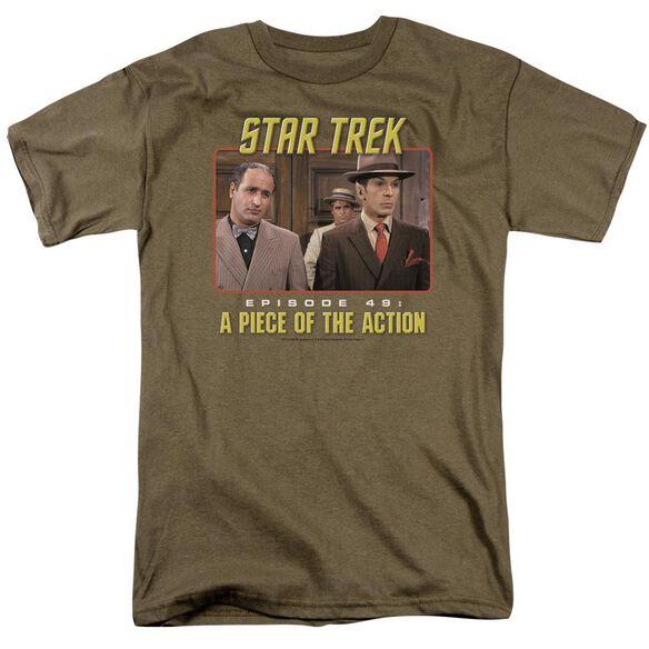 St Original Episode 49 Short Sleeve Adult Safari Green T-Shirt
