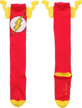Flash Logo Wings Knee High Socks