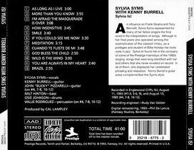 Sylvia Syms/Kenny Burrell - Sylvia Is!
