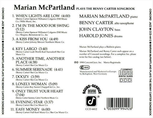 Plays The Benny Carte0890