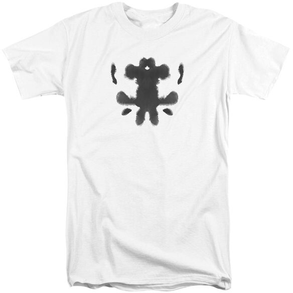 Watchmen Rorschach Face Short Sleeve Adult Tall T-Shirt