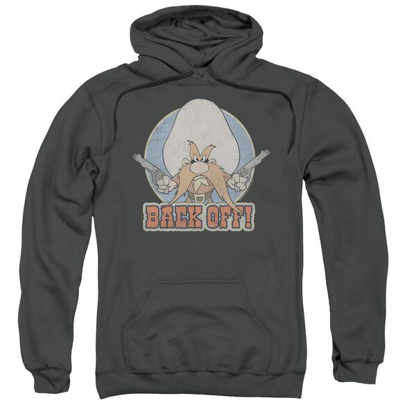 Looney Tunes I Said Back Off Adult Pull Over Hoodie
