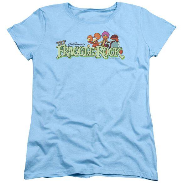 Fraggle Rock Leaf Logo Short Sleeve Womens Tee Light T-Shirt