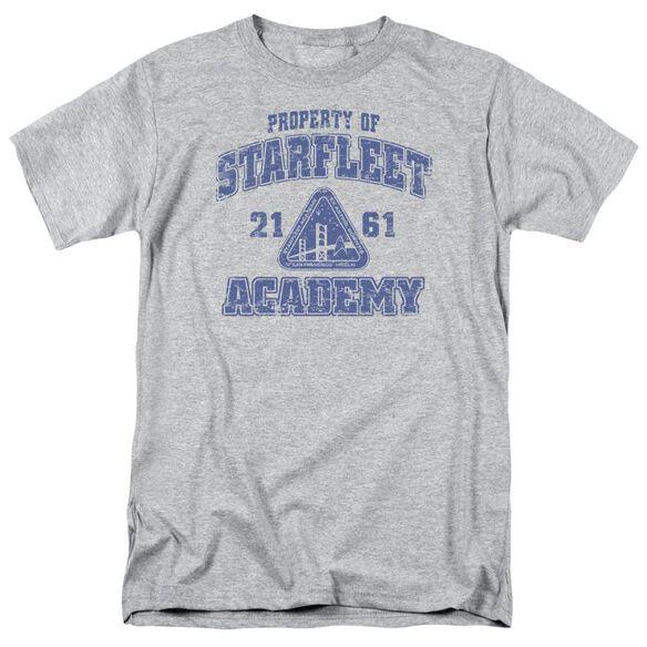 Star Trek Old School Short Sleeve Adult Athletic Heather T-Shirt